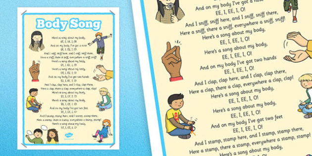 Body Song Display Poster - body song, display poster, display