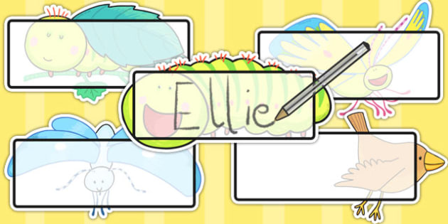 Editable Self-Registration to Support Teaching on The Crunching Munching Caterpillar