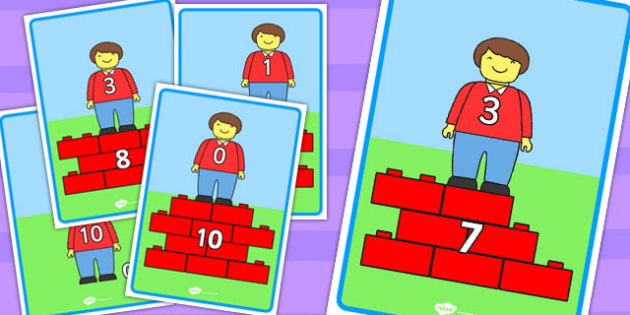 Toy Character Number Bond Display Posters to 10 - number bonds, maths