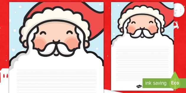 Pauta: La barba de Papá Noel - poemas, poesia, escritura natural, descripciones, escribir, pautar, pautas - poemas, poesia, escritura natural, descripciones, escribir, pautar, pautas