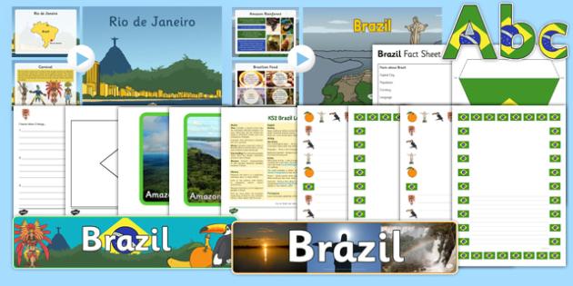 KS1 Brazil Resource Pack - ks1, brazil, resource pack, resource, pack, ks1 brazil