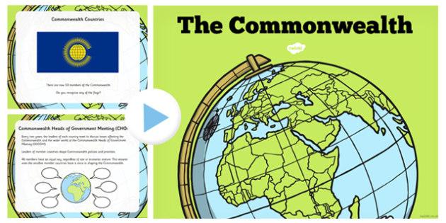 Commonwealth PowerPoint - commonwealth, powerpoint, british