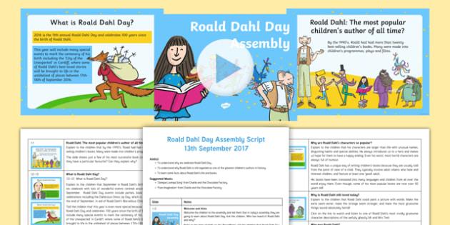 Roald Dahl Day Assembly Pack