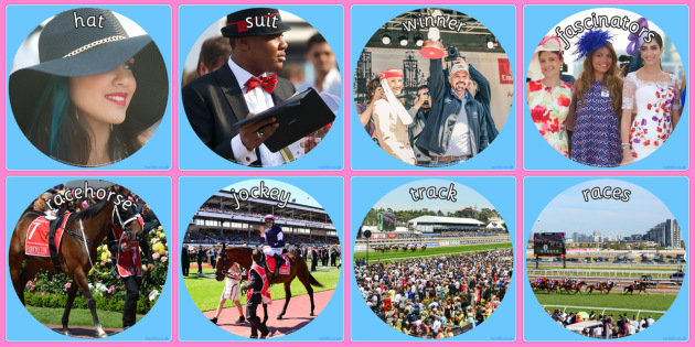 Melbourne Cup Display Photo Cut Outs - australia, melbourne cup, display photo, cut outs