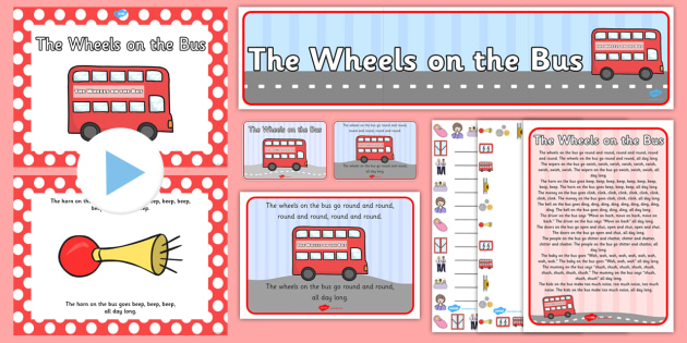 The Wheels on the Bus Resource Pack - the wheels on the bus, resource pack, pack of resources, themed resource pack, lessons, the wheels on the bus pack, wheels onthe bus