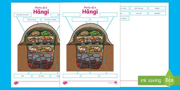 Hangi Labelling Activity Sheet - Maori Culture and Traditions, hangi, worksheet,