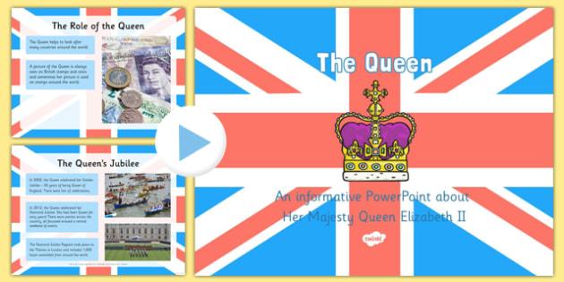 EYFS Queen Elizabeth II PowerPoint
