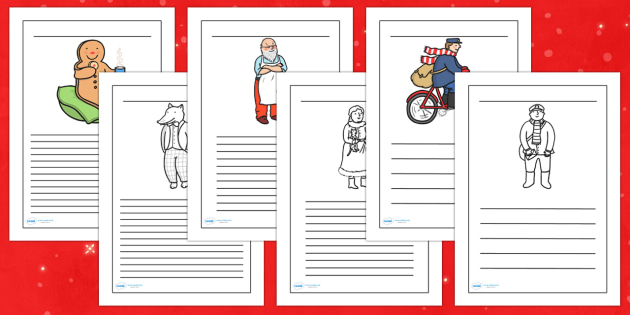 Writing Frames to Support Teaching on The Jolly Christmas Postman - the jolly christmas postman, writing frame, the jolly postman writing frames, christmas writing frame
