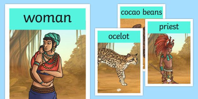 Mayan Civilization Display Posters - mayan, posters, maya, poster