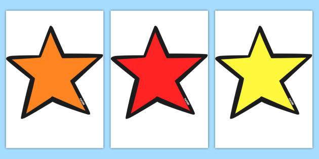 Carpet Area Sitting Stars - Carpet area, star, sitting, sitting spot, sitting spots, good sitting, behaviour management, carpet rules