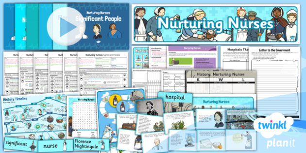 PlanIt - History KS1 - Nurturing Nurses Unit Pack