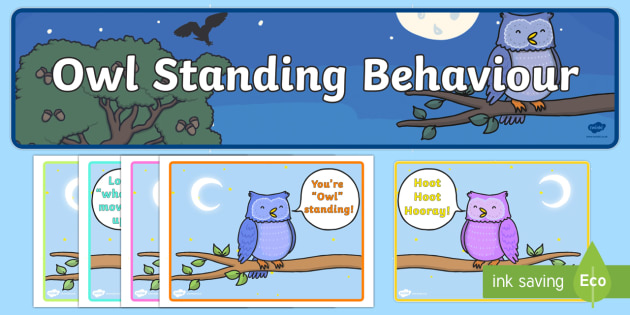 Owlstanding Behaviour Display - owlstanding, behaviour, display
