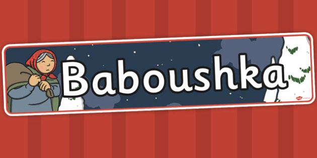 Babushka Baboushka Display Banner - babushka, display banner