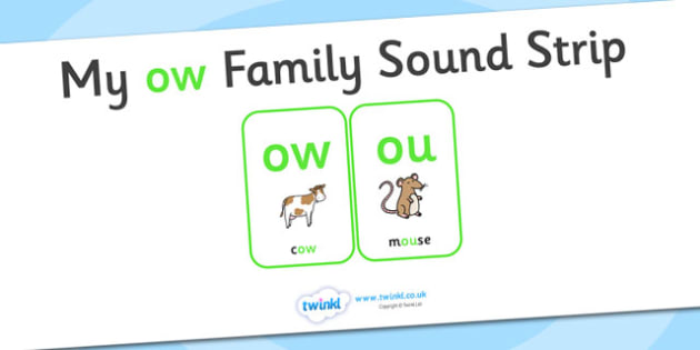 My ow Family Sound Strip - family sound strip, sound strip, my family sound strip, my ow sound strip, ow sound strip, ow family sound strip