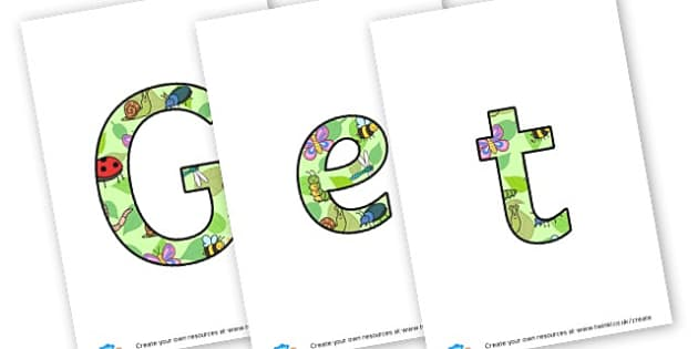 Get Set Grow - display lettering - Plants & Growth Display Primary Resources, flowers, growing