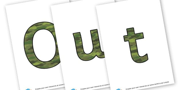 Outside Learning - display lettering - Outdoor Area Primary Resources, outdoors, PE, signs, visual aids
