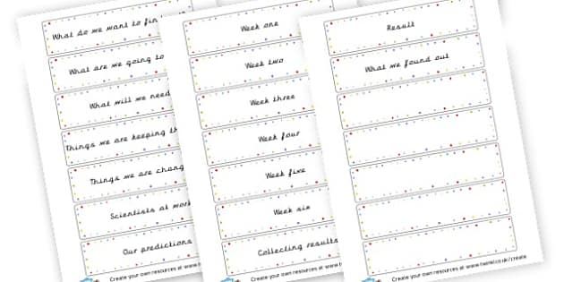 Plant Experiment Cards - Plants - New 2014 Curriculum, Year 2, Science, Plants, 2014, New
