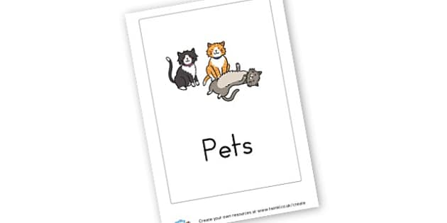 Pets - Pets Writing Frames Primary Resources, pet, animal, living things