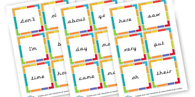 Phase 5 HFW Cards - Phase 5 Visual aids Primary Resources, Phase One, Letters, sounds