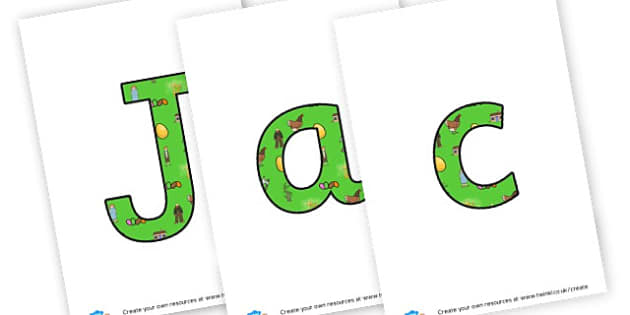 Jack and the Beanstalk - display lettering - Jack and the Beanstalk Primary Resources, Traditional tales, story