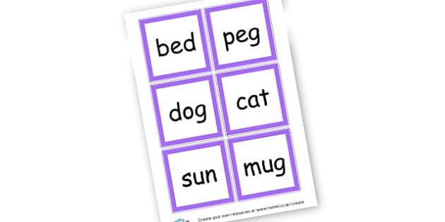 CVC Words - CVC Words Literacy Primary Resources -  Primary Resources, CVC, c