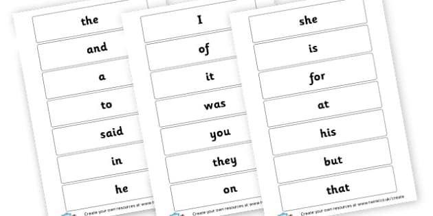 100 High Frequency Words - High Frequency Words Activites Primary Resources, letters, sounds