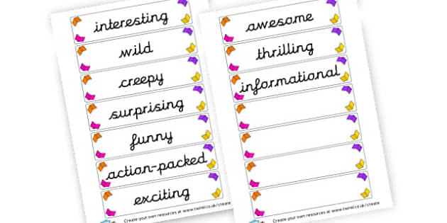 Book words Cards - Reading Area Primary Resources, signs, area, zones, banner, poster