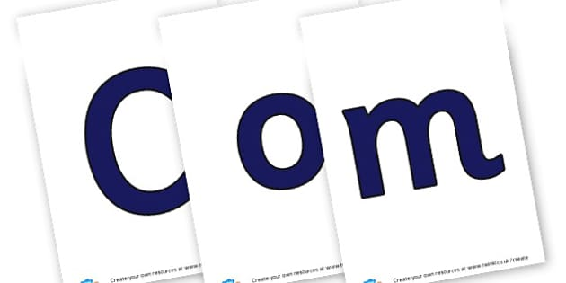 Computing - display lettering - ICT Area Primary Resources, signs, area, zones, banner, poster
