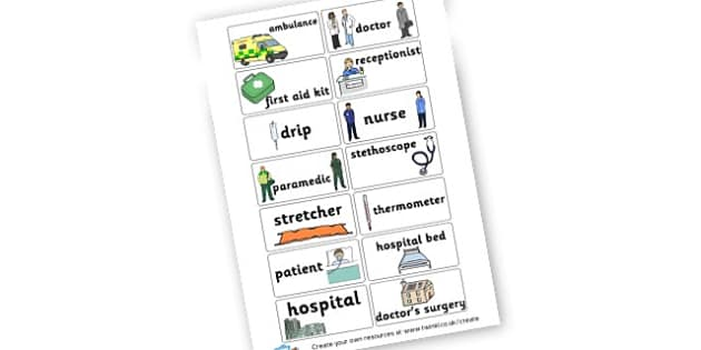 Doctors and Nurses - Doctor's Surgery Role Play Primary Resources, roleplay, role-play
