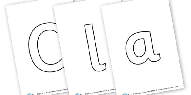 Class of 2015 - display lettering - Classroom Signs & Label Primary Resources, labels, posters, rules