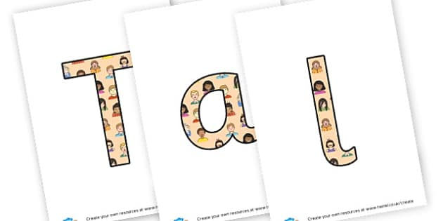 Talking and Learning Partners - display lettering - Carpet Area Primary Resources, signs, area, zones, banner, poster