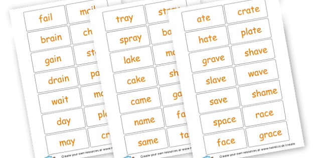 /ai/ flashcards - Phase 3 Visual Aids Primary Resources, Phase One, Letters, sounds