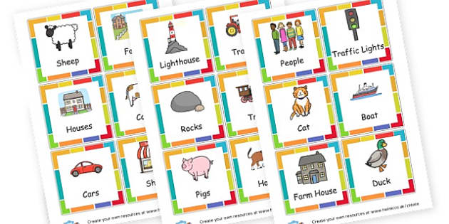 What Will I See Cards - Outdoor Play Primary Resources, Outdoor Play, Outside, Playground