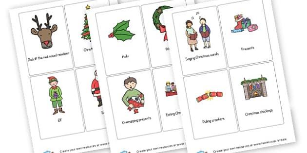 Christmas Charades - Christmas Games & Activities Primary Resources, xmas, santa, tree
