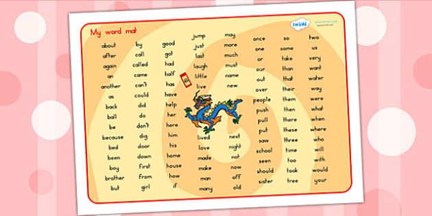 Chinese New Year Word Mat KS1 - chinese new year, new year, KS!