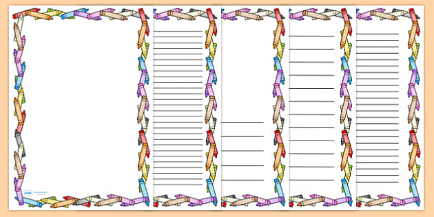 Arctic Clipart Border additionally  together with Crayon Clipart Frame additionally T C Crayon Page Borders Ver further . on crayon border