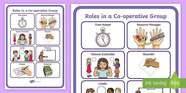 group roles Task roles task roles refer to the actions of individuals that help move the project, decision, task along initiating  what: proposing task or goals defining a group problem suggesting procedure or ideas for getting the task accomplished.