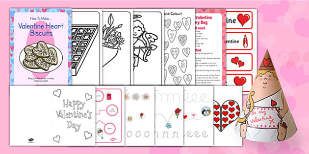 Valentine's Day SEN Resource Pack - valentines day, sen, resource pack, resource, pack, valentine