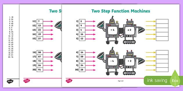 function machine activity