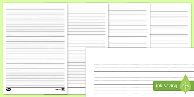 Differentiated Handwriting Guidelines Guides Write Writing