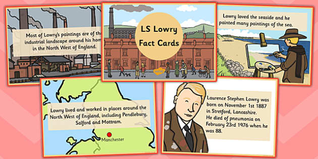 LS Lowry Fact Cards - activities, activity, challenges