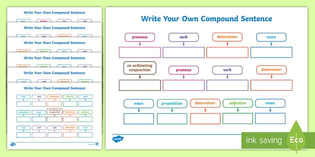 Write a compound sentence