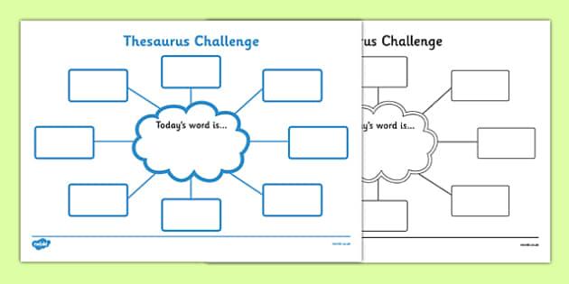 Thesaurus Challenge Worksheets Thesaurus Challenge Thesaurus – Thesaurus Worksheets