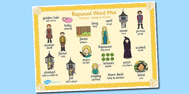 describing rapunzel in 100 words