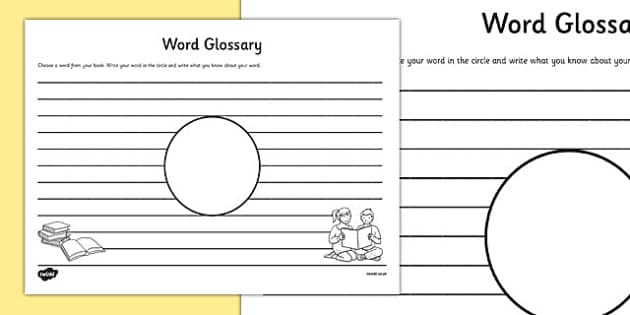Sylvester And The Magic Pebble Worksheets Excel Word Glossary Comprehension Worksheet  Word Glossary Find The Difference Worksheet Excel with Main Idea Worksheets 2nd Grade Word  Solving Logarithmic Equations Worksheet With Answers Pdf