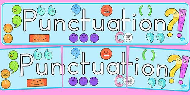 Punctuation Display Banner - australia, punctuation, display, banner