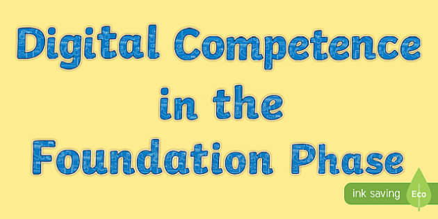 Digital Competence in the Foundation Phase Display Cut Outs