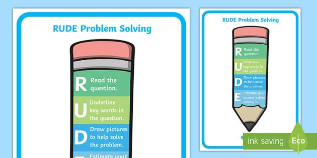 Problem Solving Numeracy