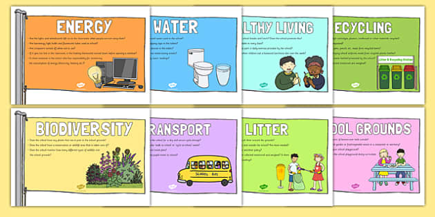 Eco, Recycling & Environment Primary Resources