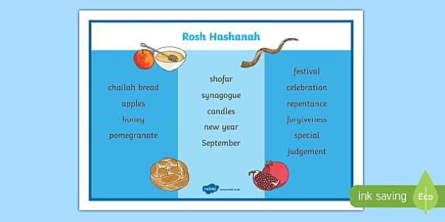 Festivals & Cultural Celebrations Rosh Hashanah Primary Resources